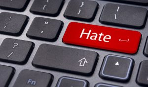 Cyber bullies enter hate.